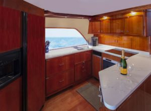 Full-sized, fully equipped kitchen